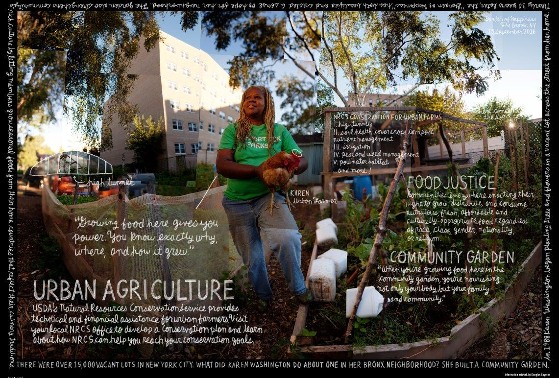 Urban agriculture pioneers taking action in their communities